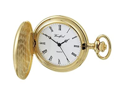 Woodford Pocket Watch 1230 Gold Plated Full Hunter
