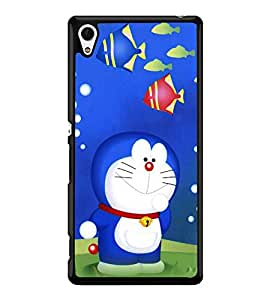 printtech Designer funny cartoon Back Case Cover for Sony Xperia Z4 , Sony Xperia Z4 E6553