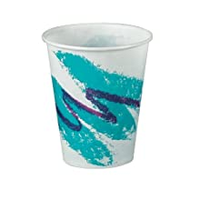 Solo R8N-00055 8-Ounce Jazz Wax Coated Treated Paper Cold Cup (20 Packs of 100)