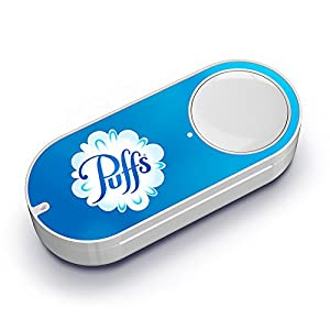 Puffs Dash Button by Amazon