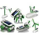 6-in-1 Educational Solar Kit Build Your Own Science Toy DIY (Manufacturer Varies)