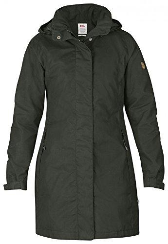 Fjäll Räven Una Jacket, Damen Mantel, 032 mountain grey - grau - S