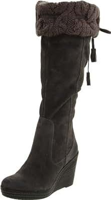 Dr. Scholl's Women's Builder Knee-High Boot,Elephant Grey,5.5 M US
