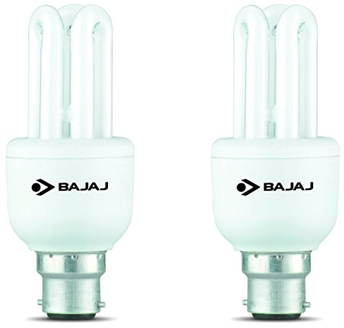 Bajaj Retrofit Miniz T3 Linear B22 8W CFL Bulb (Cool Daylight, Pack of 2) Image