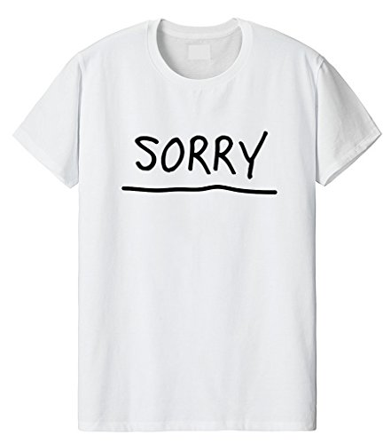 Fellow Friends - Justin Bieber Sorry Unisex T-shirt Small White