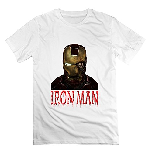 Seico Men Iron Man Halloween Zombies T Shirts