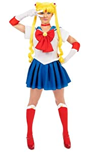 Sailor Moon Teen Costume (As Shown;One Size)