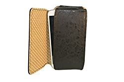 TOTTA PU Leather Hand Pouch For Micromax Bolt A069-Black