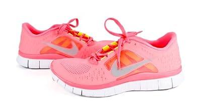 Nike Lady Free Run+ V3 Running Shoes - 10.5 - Pink