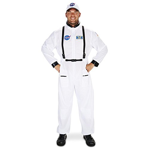 White (White Astronaut Adult Costumes)