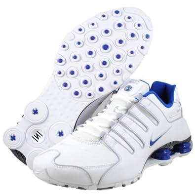 Nike Shox NZ EU Schuhe white-old royale-pure platinium-grey - 46