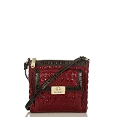 Mimosa Crossbody<br>Carmine Red Tri-Color