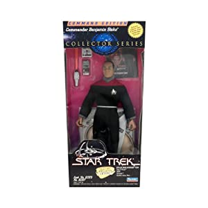 "9"" Commander Benjamin Sisko Action Figure - Star Trek Command Edition Collector Series"