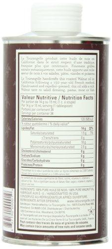 宝宝最佳食用油:La Tourangelle 烘烤压榨核桃油500ml图片