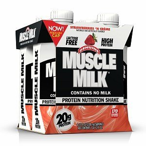 Cytosport Muscle Milk Protein Shake, Strawberries N' Cream, 4 Ea