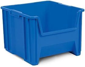 AKRO-MILS Stak-n-Store Poly Bins - 16-12x17-12x12-12quot - Blue