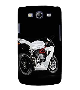 printtech Superfast Bike Back Case Cover for Samsung Galaxy S3 / Samsung Galaxy S3 i9300