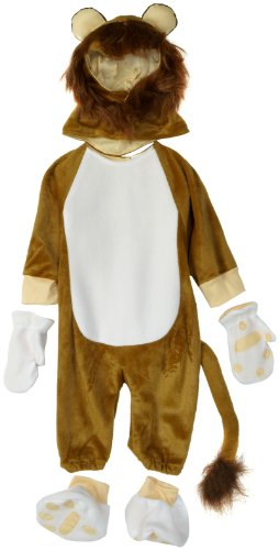 Little Golden Books Deluxe Tawny Scrawny Lion Costume, Brown, 12 - 18 Months
