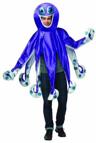 Rasta Imposta Men's Octopus Costume