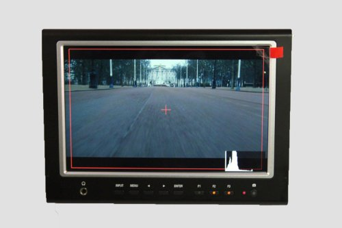 Lilliput 7″ 664 IPS Screen Hdmi in Slim Shutter Release Camera-top Monitor with Broadcast Quality for Dslr & Full Hd Camcorder Such As Canon 500d 600d 1100d 60d 5dii Sony Camera By Viviteq INC
