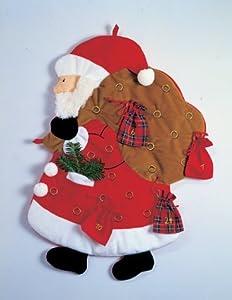 nikolaus stoff adventskalender santa claus cloth advent calendar b cher. Black Bedroom Furniture Sets. Home Design Ideas