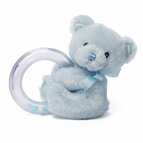 Gund Baby Gund My 1st Teddy Ring Rattle