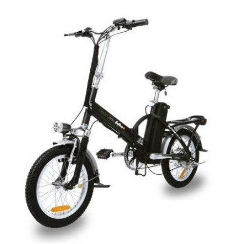 Electrobike Alfa Plus Electric Bike - Matte Black