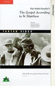 The Gospel According To St. Matthew [VHS] [1967]