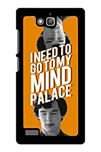 Caseque I Need to go to My Mind Palace Back Shell Case Cover for Huawei Honor 3C