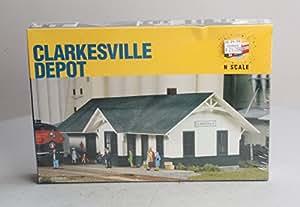 Walthers Cornerstone - Clarkesville Depot Kit N