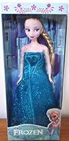 Frozen Sparkle Princess Elsa Doll