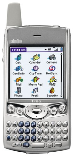 Palm Treo 600 Unlocked PDA Phone with SD/MMC--U.S. Version with Warranty (Silver)