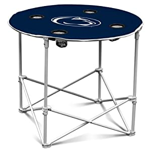 NCAA Penn State Nittany Lions Round Tailgating Table by Logo