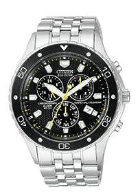 Citizen #BL5290-59E Men's Eco-Drive Perpetual Calendar Alarm Chronograph Watch