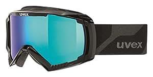 Uvex Apache 2 Ski Google - Black, Size 3