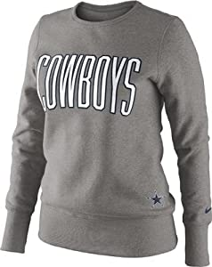 Dallas Cowboys Tailgater Fleece - Gray - Small by NFL
