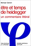 Etre et temps de Heidegger