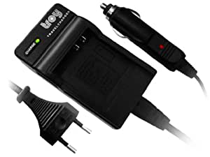 Troy-Kompakt-Ladegerät für Nikon D50 D70 D80 D90 D100 D200 D300 D700 EN-EL3 EN-EL3e EN-EL3a