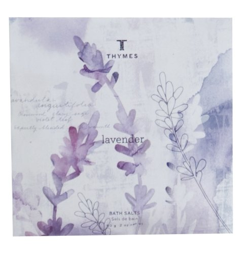 Thymes Bath Salts Envelope, Lavender, 2-Ounce Envelope (Pack of 3) (Thymes Bath Salts compare prices)