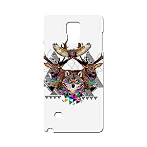 BLUEDIO Designer Printed Back case cover for Samsung Galaxy Note 4 - G3729