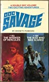 Doc Savage:  Whisker of Hercules #103 and the Man Who Was Scared #104 (0553146165) by Robeson, Kenneth