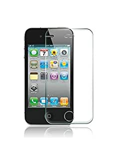 Lorem Fine Quality Clear Tempered Glass For Apple iPhone 4/4S-Transparent