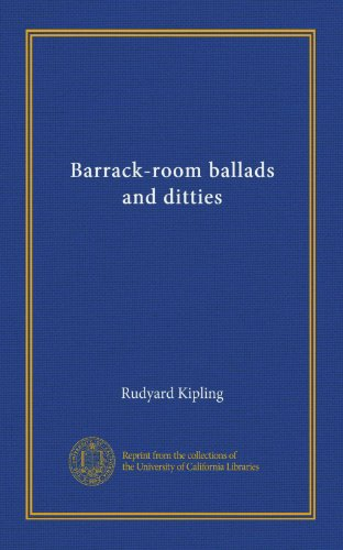 Barrack-room ballads and ditties PDF