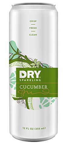 DRY Sparkling Can, Cucumber, 12 Count (Dry Blood Orange Soda compare prices)