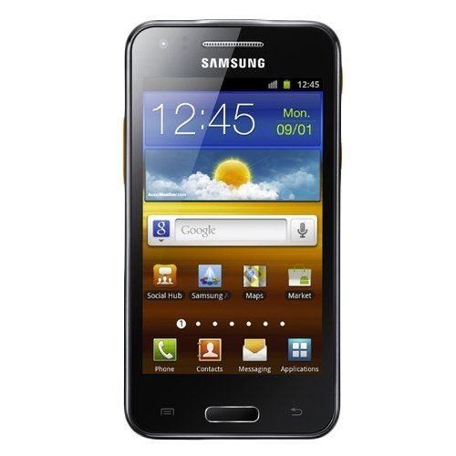Samsung Gt-I8530 Galaxy Beam 3G Unlocked Gsm Phone With Built-In Hd Projector, 5Mp Camera, Wi-Fi And Bluetooth - Ebony Grey
