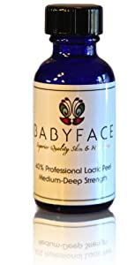 Babyface Professional 40% Lactic Acid Chemical Peel - Large Size 1.2 oz. brought to you by Babyface
