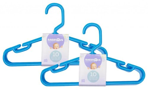 Babies R Us 20 Pack Hangers - Blue - 1