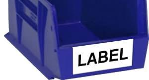 Quantum LUS205 Cardstock Label for QUS205, White, Case of 50
