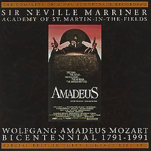Amadeus: The Complete Original Soundtrack Recording by Wolfgang Amadeus Mozart, Tom Hulce, Elizabeth Berridge, Roy Dotrice and Simon Callow