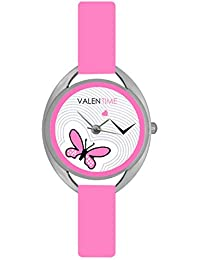 Valentime Designer Watch With Lovely Strap And Beautiful Dial With Awesome Offer - For Girls And Women